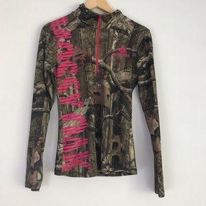 Mossy Oak Break Up Infinity 1/2 Zip Camo Jacket L